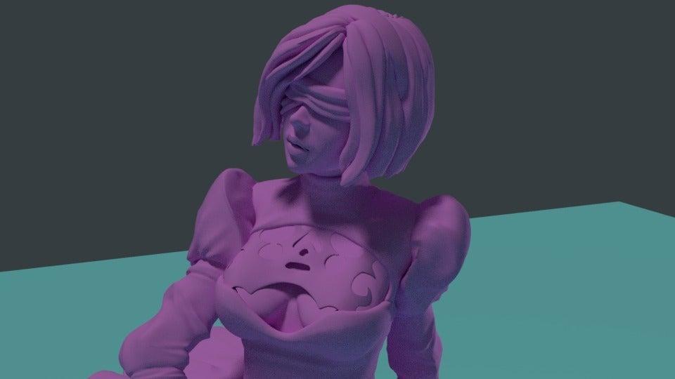 10fb15c77258a991b0028080a64fb42d_display_large.jpg Download free STL file NieR: Automata with KATANA • Model to 3D print, Boris3dStudio