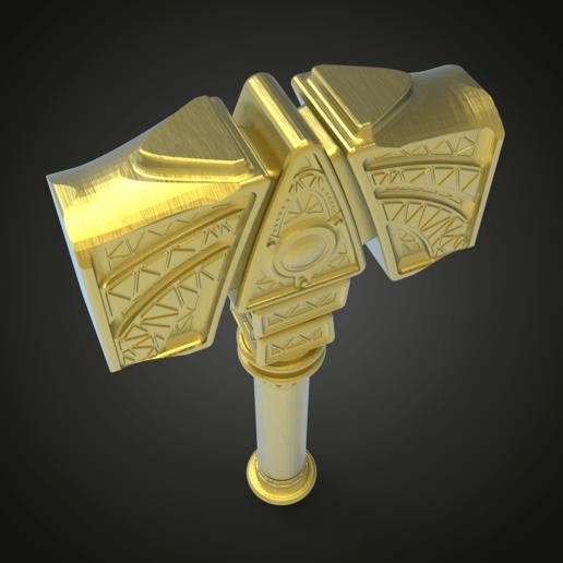 untitled.295.png Download free STL file Mjölnir • 3D printing object, Boris3dStudio