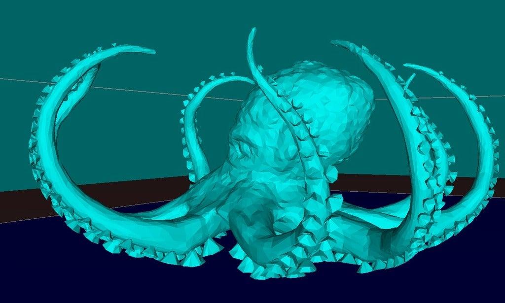 351e60e5e91e30fd83df9d872deba23f_display_large.jpg Télécharger fichier STL gratuit Pieuvre • Modèle pour impression 3D, Boris3dStudio