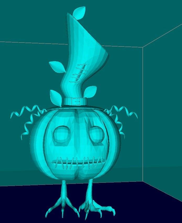 64befa18637bf0cb5338cecd2e1b0d5c_display_large.jpg Download free STL file Cute  pumpkin • 3D printing object, Boris3dStudio