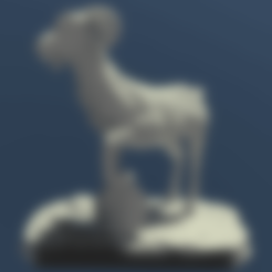 Koza.stl Download free STL file Goat • 3D print object, Boris3dStudio