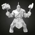 HULK1.png Télécharger fichier STL gratuit Hulk Ragnarek • Objet à imprimer en 3D, Boris3dStudio