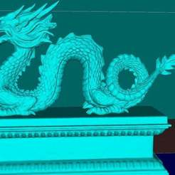 Download free 3D printing designs Chinese dragon v2.1, Boris3dStudio