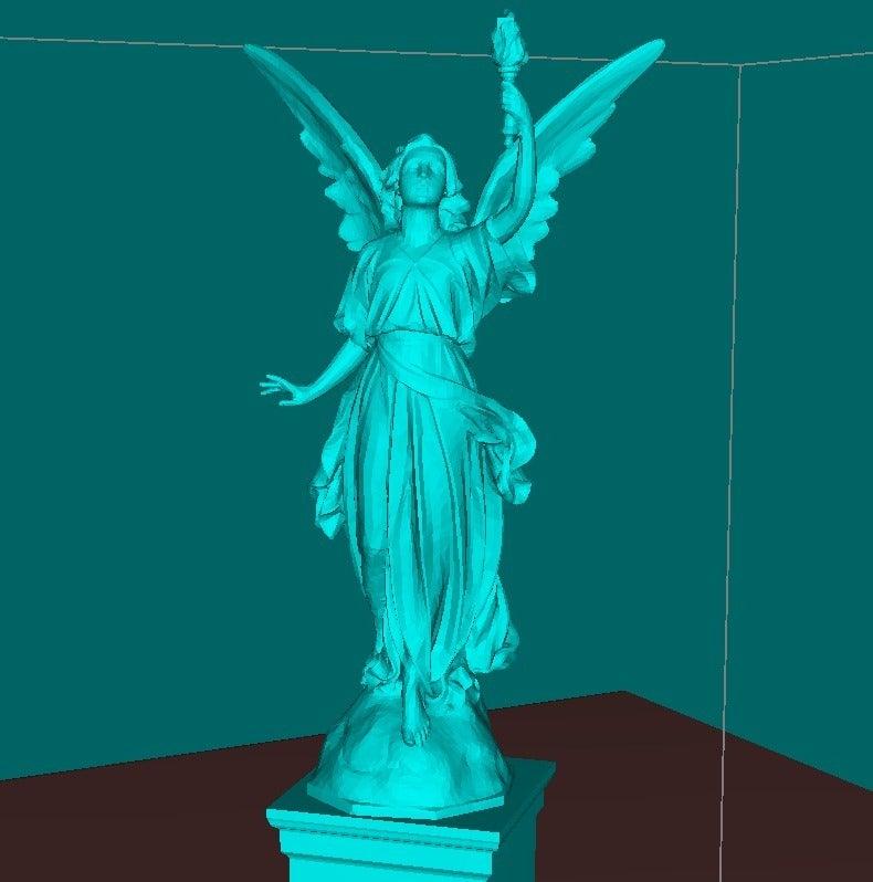 22181209a0562a4129b2dd2dce49e5e3_display_large.jpg Download free STL file Angel statue with fire • 3D printer template, Boris3dStudio