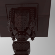 Owl_Shield.234.png Download free STL file Analogion - stand for books for priest or profet (For DND miniature and remixes) • 3D print object, Boris3dStudio