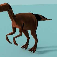 Download free STL Chirostenotes Dinosaur, Boris3dStudio