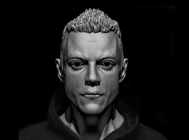 d272e90f2ce083a5ad386fab34b8a102_display_large.jpg Download free STL file Elliot (Mr. Robot)  Rami Malek • 3D printer object, Boris3dStudio