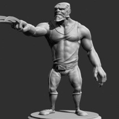 Download free 3D printing templates wolverin cartoon, Boris3dStudio
