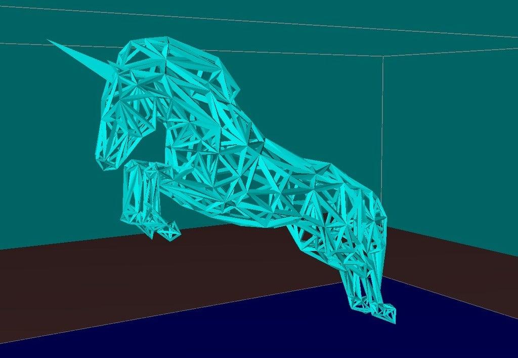 a6d5e776af6f174de2eb6f2f781af5a7_display_large.jpg Download free STL file Unicorn • Template to 3D print, Boris3dStudio