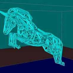 Download free 3D print files Unicorn, Boris3dStudio