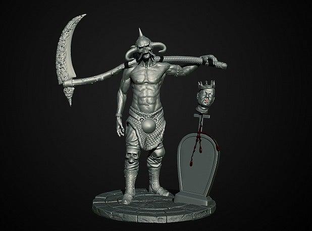 1fe209e3e8f952eaf9390eb9cc7871ee_display_large.jpg Download free STL file Soul Reaper demon hunter • 3D print object, Boris3dStudio