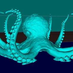 Download free 3D printer designs Octopus, Boris3dStudio