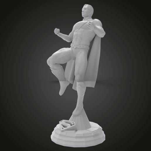 untitled.286.png Download free STL file SuperMan on pose stand • 3D print design, Boris3dStudio
