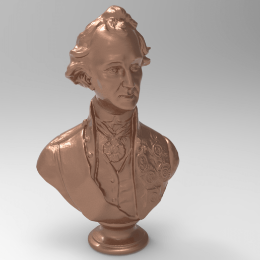 Download free STL file Alexander Suvorov bust • 3D printable object, Boris3dStudio