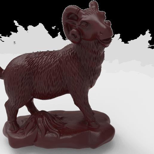 Download free STL file Ram • 3D printable design, Boris3dStudio