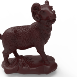 RAM.png Download free STL file Ram • 3D printable design, Boris3dStudio