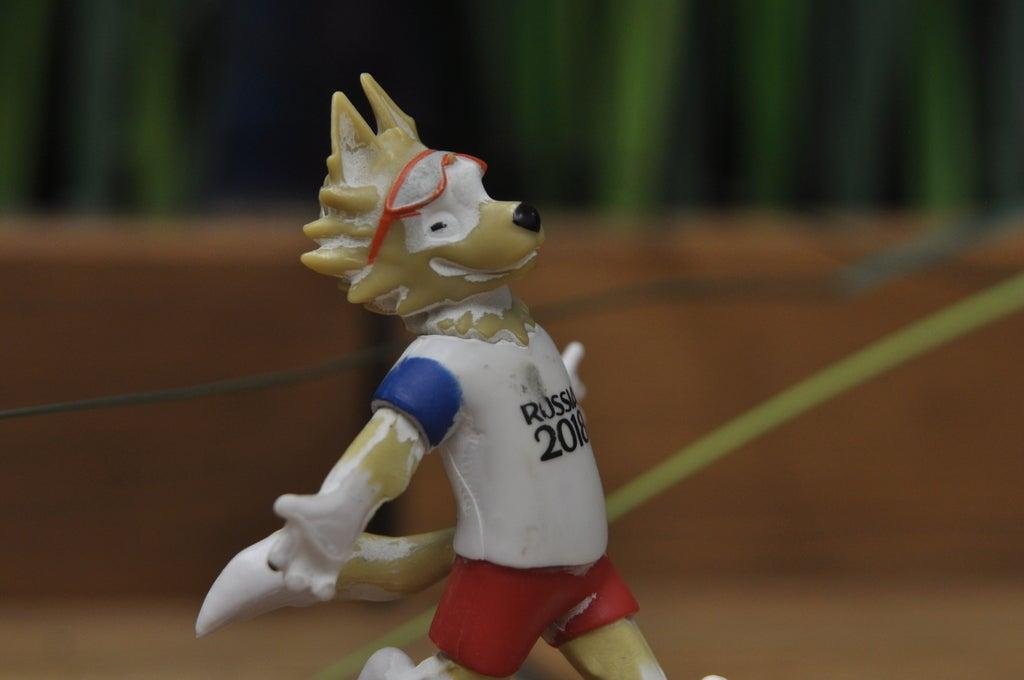897c84860c30569440bfaf7ab6c1194d_display_large.JPG Télécharger fichier STL gratuit Zabivaka, mascotte officielle de la Coupe du Monde de la FIFA 2018 • Objet pour impression 3D, Boris3dStudio