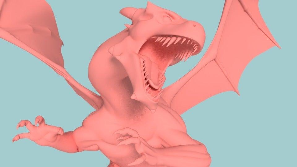 d343e0bfaf959bb3f849de4d108e41e4_display_large.jpg Télécharger fichier STL gratuit Charizard Dragon réaliste • Modèle à imprimer en 3D, Boris3dStudio