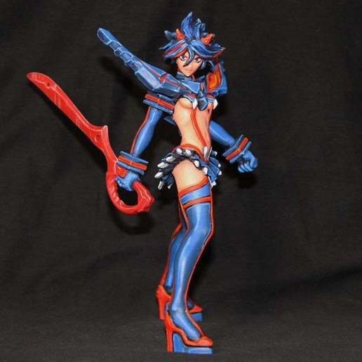 Download free 3D printer model Kill La Kill - Ryuko Matoi, Boris3dStudio
