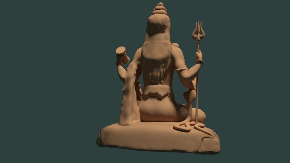 359936583f94336ca1b6ec14847c2f7f_display_large.jpg Download free STL file Statue of Shiva in the lotus position at Murudeshwar • 3D printing model, Boris3dStudio