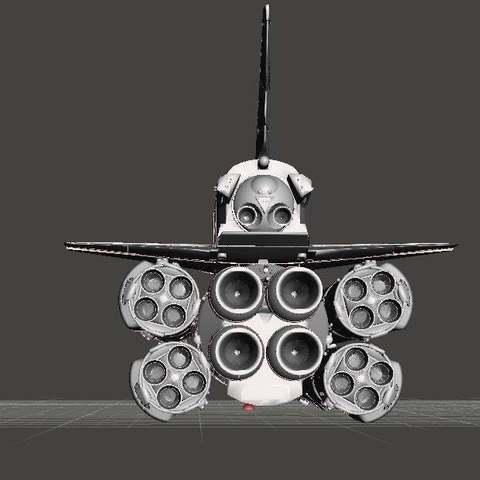 65d1ebc15a51ec11e4406bdee97f54c7_display_large.jpg Télécharger fichier STL gratuit Energiya Bourane (navette spatiale russe) Fusée à énergie (programme Bourane) • Objet pour impression 3D, Boris3dStudio