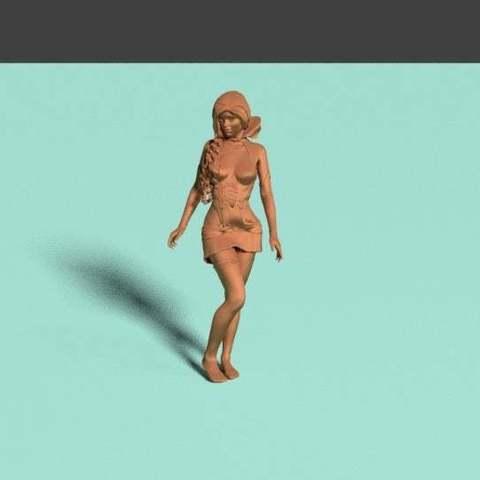 ba6434b5da3919f5ca29eee7a70925c9_display_large.jpg Télécharger fichier STL gratuit Sorcière Fille Mage • Plan pour impression 3D, Boris3dStudio