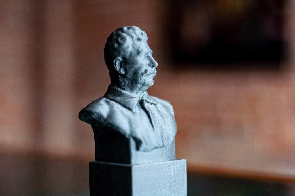 41b5912c59f030f88e5ce228ff486027_display_large.jpg Télécharger fichier STL gratuit Staline BUST du musée GORKI LENINSKIYE • Design pour impression 3D, Boris3dStudio