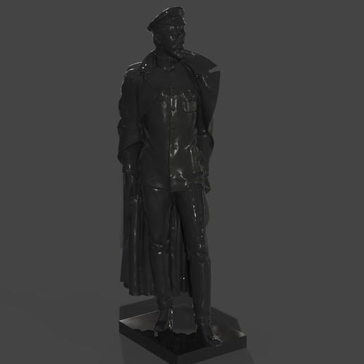 Download free STL file Felix Dzerzhinsky bust (USSR NKVD LEADER) IRON FELEX • 3D printing object, Boris3dStudio