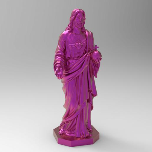 Télécharger fichier STL gratuit Jésus pour les remixes • Plan pour impression 3D, Boris3dStudio