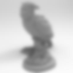 Sokol_stat.stl Télécharger fichier STL gratuit Faucon • Objet pour impression 3D, Boris3dStudio