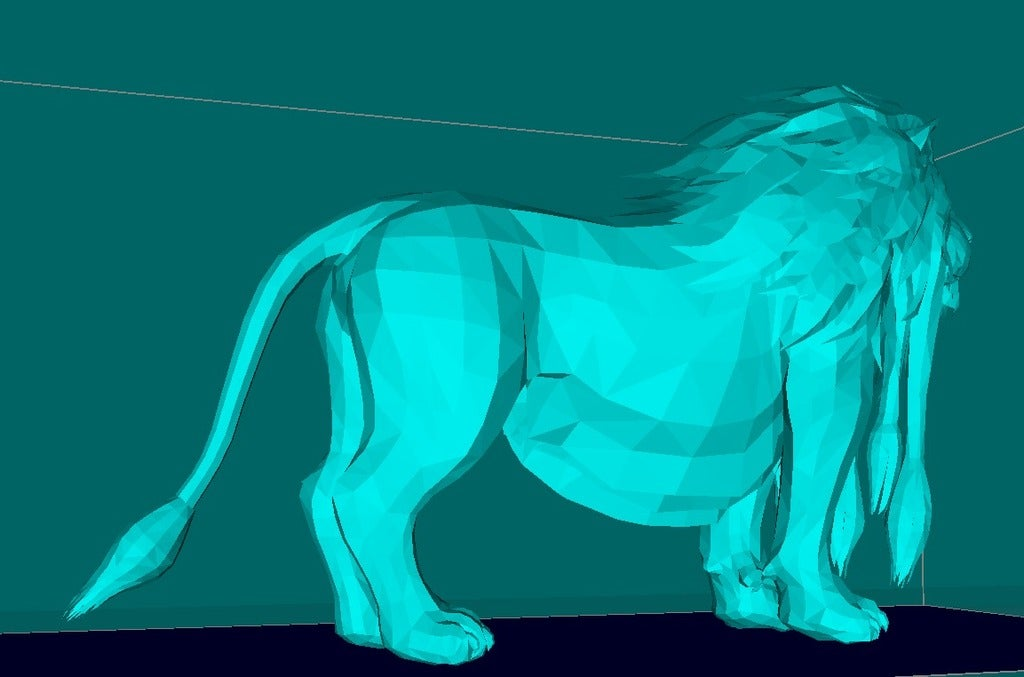 83e92bef2a68e2d8c02cd8b5f01be6bf_display_large.jpg Download free STL file Lion, king of the animals • Template to 3D print, Boris3dStudio