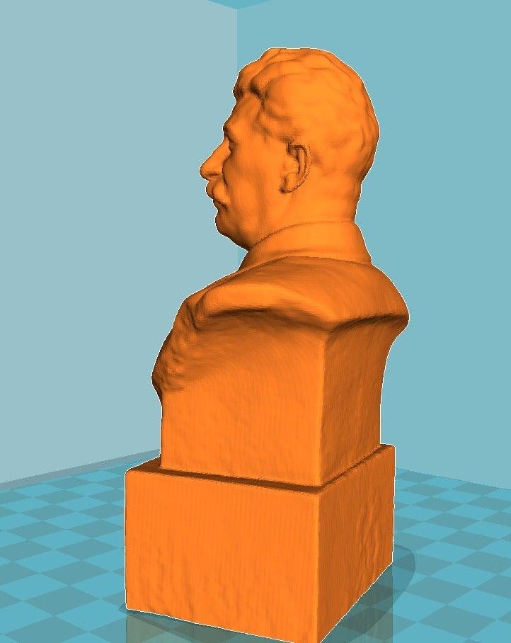 80472919b5085abcbb767beea0843778_display_large.jpg Télécharger fichier STL gratuit Staline BUST du musée GORKI LENINSKIYE • Design pour impression 3D, Boris3dStudio