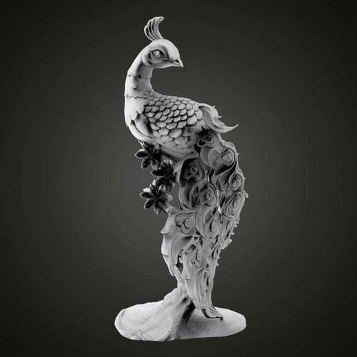 Download free STL file Peafowl • 3D printable object, Boris3dStudio