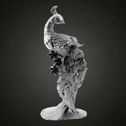 untitled.38.jpg Descargar archivo STL gratis Peafowl • Objeto imprimible en 3D, Boris3dStudio