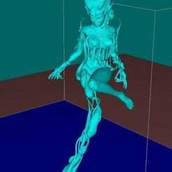 Télécharger modèle 3D gratuit Venin toxique Evil dryad, Boris3dStudio