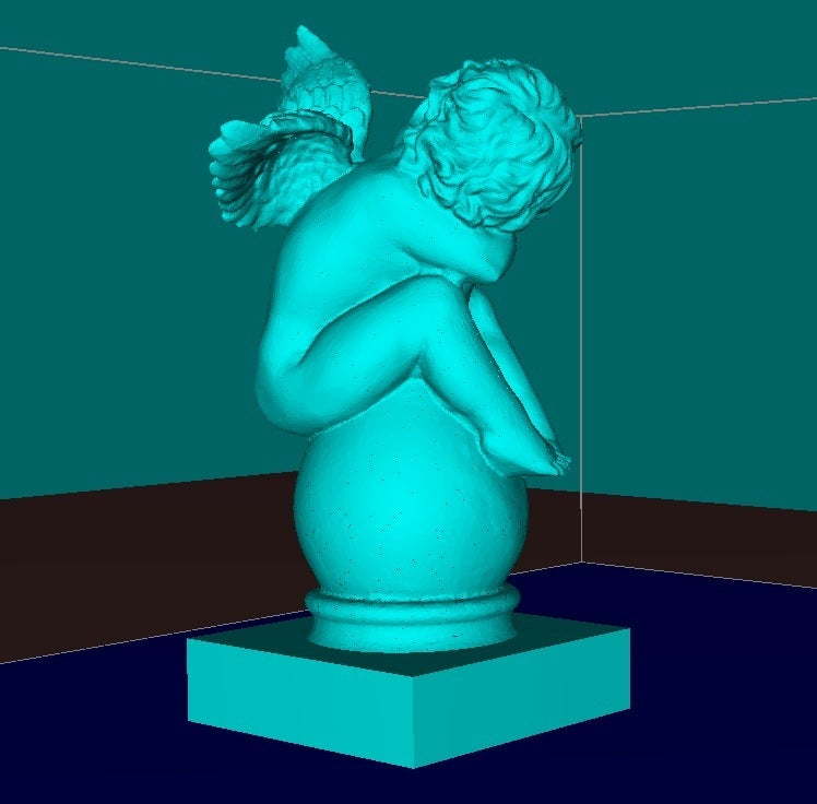 d343e0bfaf959bb3f849de4d108e41e4_display_large.jpg Download free STL file Little Eros on the Vase • 3D print model, Boris3dStudio