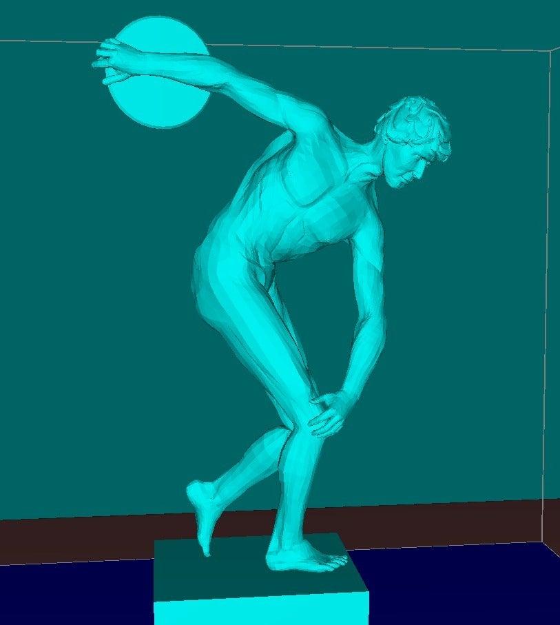 56eef66279af180f99220c66fbc58f18_display_large.jpg Download free STL file Discus throw man • 3D printable model, Boris3dStudio