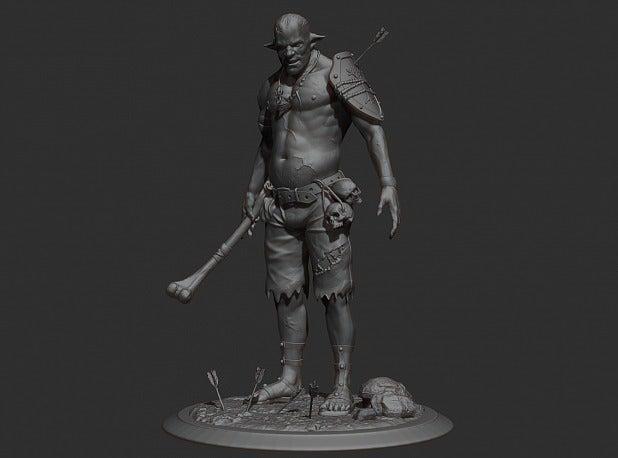 c81bdd23cad65d20bbc34945d86f427b_display_large.jpg Download free STL file Cannibal tabletop figure • 3D printing object, Boris3dStudio