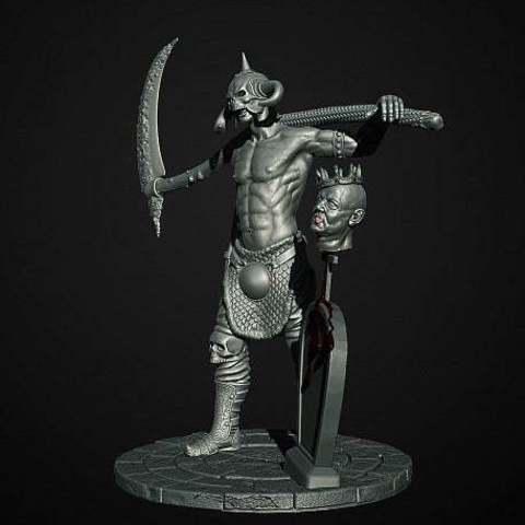 bd4316dd2cc602964c4ea8c734937bc6_display_large.jpg Download free STL file Soul Reaper demon hunter • 3D print object, Boris3dStudio