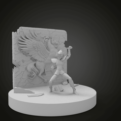 untitled.289.png Download free STL file Pegasus diorama   Pinterest Seiya Knights of the Zodiac Life Size Figure Statue • 3D printer model, Boris3dStudio