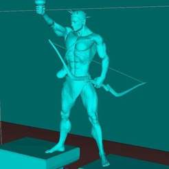 Download free 3D printer designs colossus of rhodes, Boris3dStudio