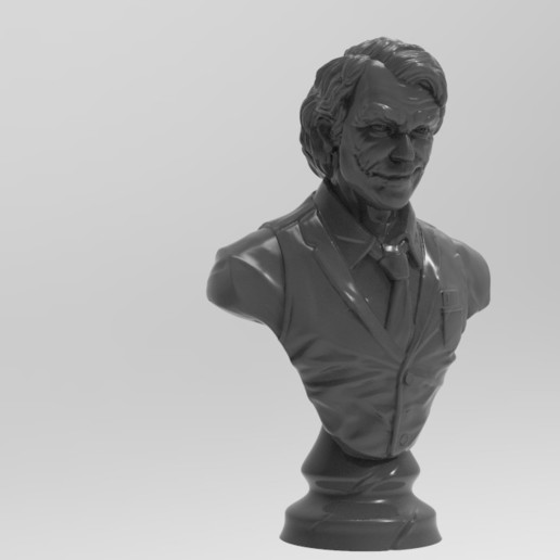 Download free STL file Joker bust • 3D print design, Boris3dStudio