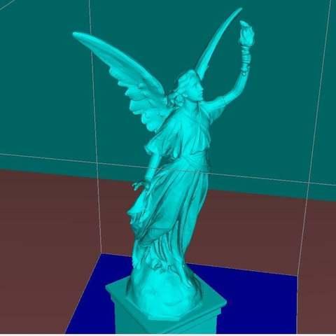 c2c87510e14c17629134ae4ea811df05_display_large.jpg Download free STL file Angel statue with fire • 3D printer template, Boris3dStudio