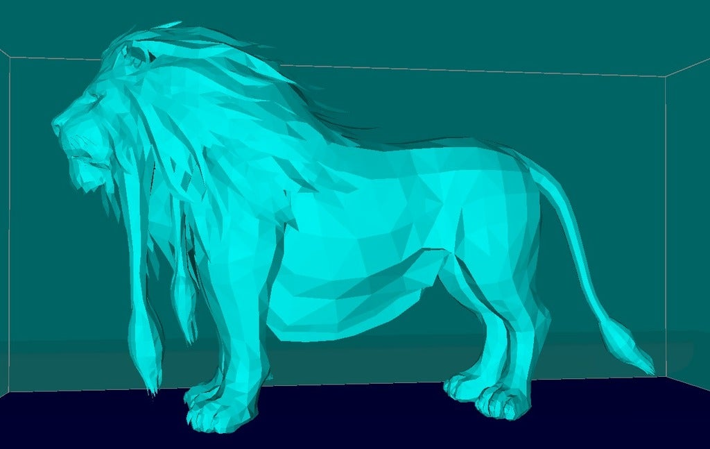 6d32a9264269ee573e3726b225aca788_display_large.jpg Download free STL file Lion, king of the animals • Template to 3D print, Boris3dStudio