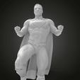 Télécharger fichier STL gratuit SuperMan sur le stand de pose, Boris3dStudio