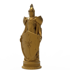 R1.png Download free STL file Knight Chess • 3D printing design, Boris3dStudio