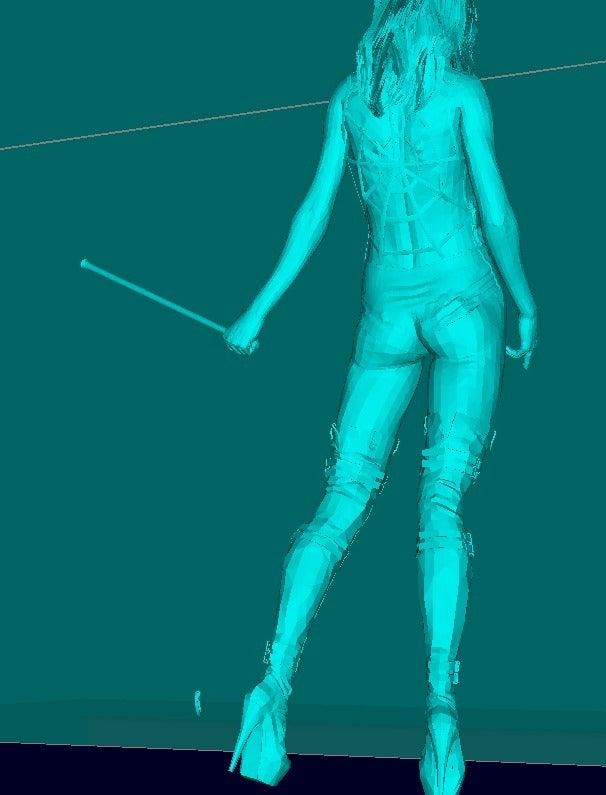 a21ac3bbcd996b351c2273198703a3ce_display_large.jpg Télécharger fichier STL gratuit Maîtresse, maitresse, domine la fille. • Objet pour imprimante 3D, Boris3dStudio