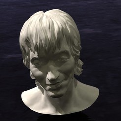 thing.jpg Download free STL file Victor TSOY bust (Виктор Цой Бюст) • 3D printable template, Boris3dStudio