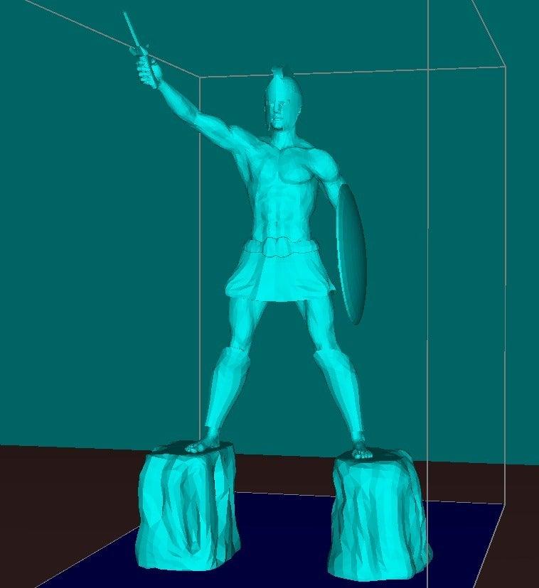 916bc6b549d044d59506b9cfd91b6efa_display_large.jpg Download free STL file Titan of Braavos • 3D printing design, Boris3dStudio