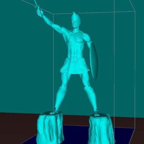 Download free 3D printer designs Titan of Braavos, Boris3dStudio